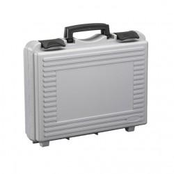 Valise plastique 170/34H96 grise, vide